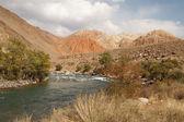 Горная река — Стоковое фото