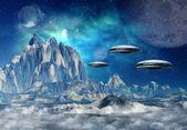 Alien Planet — Stock Photo