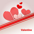 Royalty-Free Stock Vector Image: Happy valentines day and weeding cards