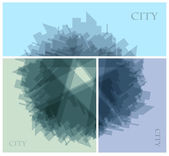 Abstract city — Stock Vector