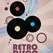 Stock Vector: Retro disco background