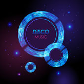 Disco abstract background — Stock Vector