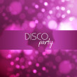 Stock Vector: Abstract disco background