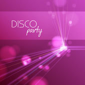 Abstract disco background — Stock Vector