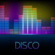 Stock vektor: Disco background