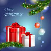 Christmas presents — Stock Vector