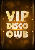 Affiche de Disco. fond Disco. — Vecteur