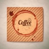 Coffee concept design — Stock Vector