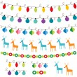 Christmas decoration set — Stock Vector #12419771