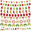 Christmas decoration set — Stock Vector #12419785