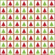 Seamless Christmas tree pattern — Stock Vector #14827431