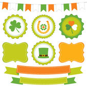 St. Patrick's Day design elements — Vecteur