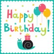 Happy birthday card — Stock Vector #27080133
