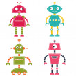 Robots set — Stock Vector #46227755