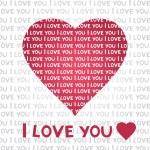Love card — Stock Vector #8197226