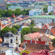 Surrounding wall of old Tallinn — Stock Photo