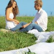Couple outdoors — Stock Photo #12173834