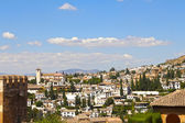 View on Alhambra and Granada — Stock Photo