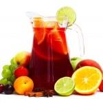 Sangris and fruits — Stock Photo