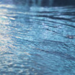 Stock Photo: Blue water surface