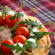 Italian appetizer snacks — Stock Photo #40904065