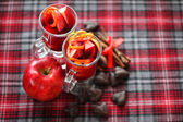 Red mulled wine — Stock Photo