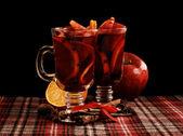 红色的芬芳的美酒 — 图库照片