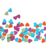 Paper hearts — Stock Photo #41950129