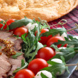 Italian appetizer snacks — Stock Photo