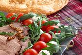 Italian appetizer snacks — Stock Photo