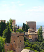 Panorama of Alhambra — Stock Photo