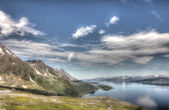 Northern Norway landscape — Stock Photo