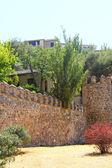Medieval city walls of Toledo — Stock Photo