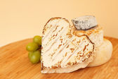 Collection of camembert cheese — Stock Photo