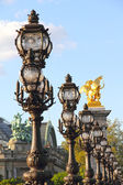 Alexander III bridge in Paris — Stock Photo