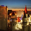 Excalibur hotel Las Vegas - Foto Stock