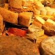 Cheese display - Stockfoto