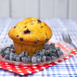 Blueberry muffin — Stock Photo #12193824