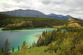 Emerald Lake, Yukon — Stock Photo