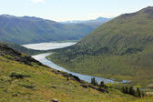 Fishlake, Yukon — Stock Photo