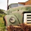 Stock Photo: Old rusted truck