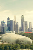 Singapor downtown — Stock Photo