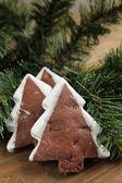 Noel kurabiyeleri — Stok fotoğraf