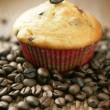 Coffee muffin - Stock Photo