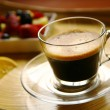 Black coffee - Stock Photo