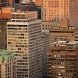 Buildings in Montreal city - Stock Photo