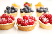 Fruity tarts — Foto Stock