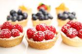 Fruity tarts — Stock Photo