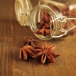 Star anise - Stock Photo
