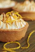 Lemon tart — Stock Photo